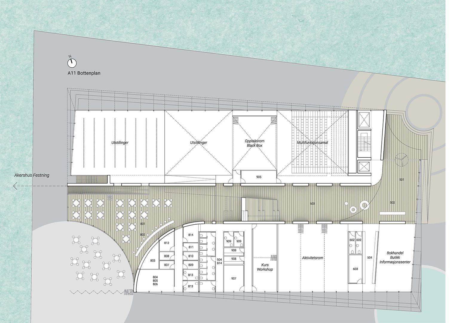 03 PLAYstudio Fotografihuset Oslo Floor Plan