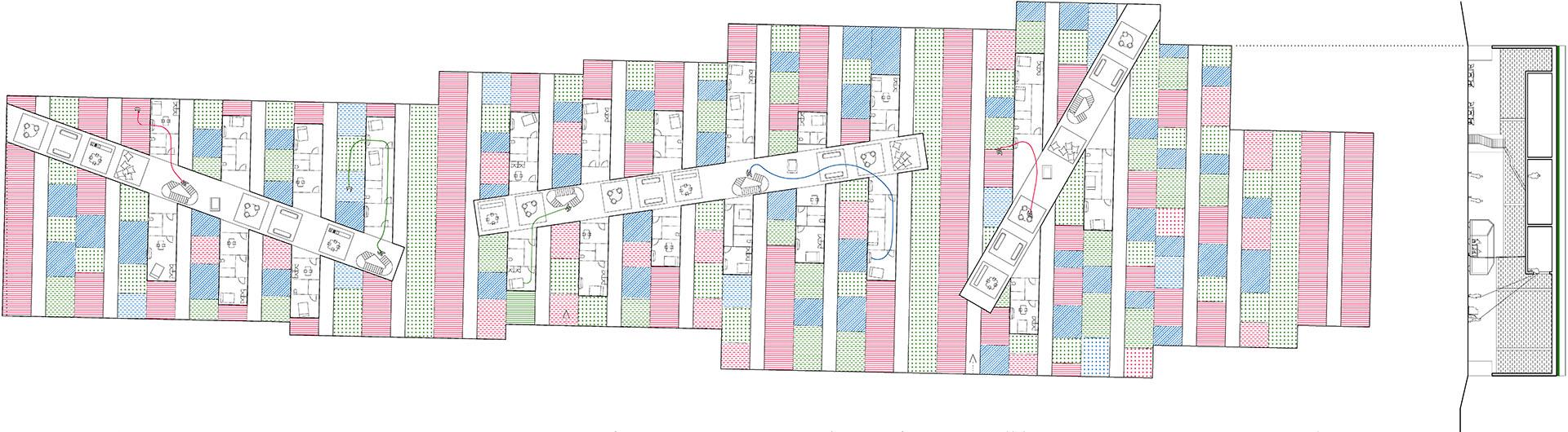 04 PLAYstudio Kune Europan 13 Bruck - Plan