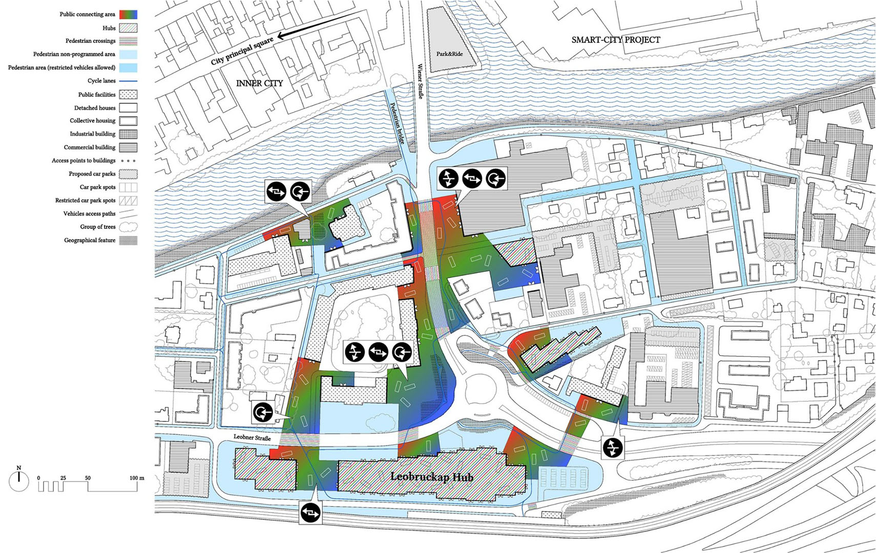 05 PLAYstudio Kune Europan 13 Bruck - Plan Public Space