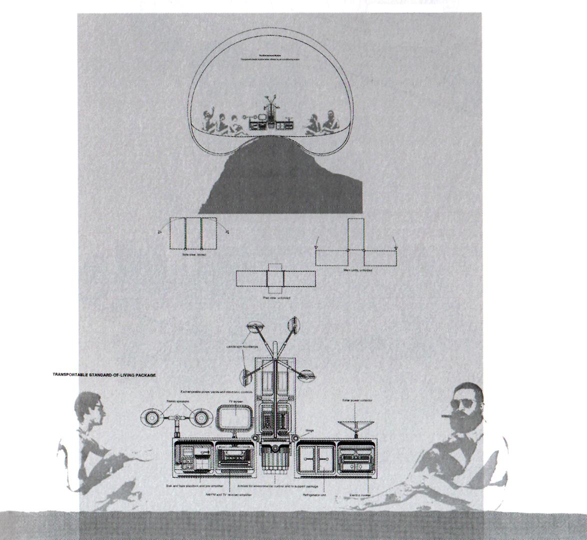 19_1965_The environment bubble - F Dallegret