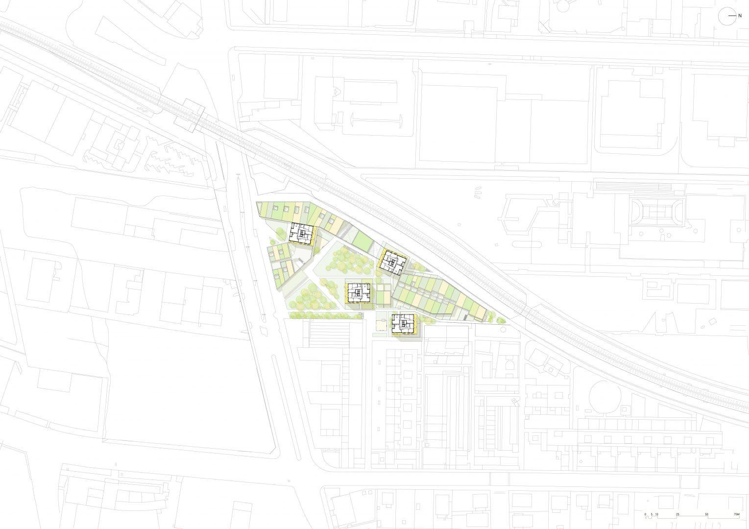 1_Perfektastrasse_Vienna_site plan