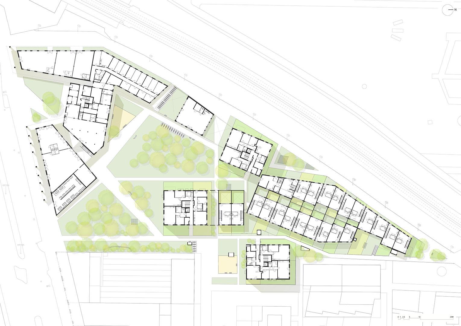 3_Perfektastrasse_Vienna_ground floor plan