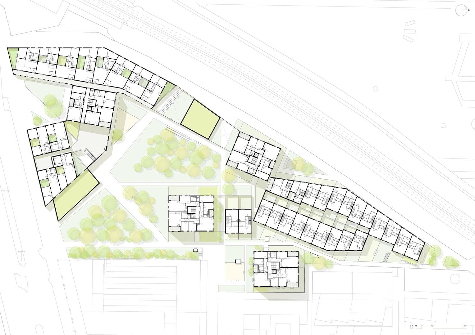 4_Perfektastrasse_Vienna_1st floor plan